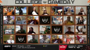 ESPN virtual college gameday