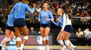 UNC college sports and volleyball