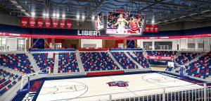liberty basketball arena